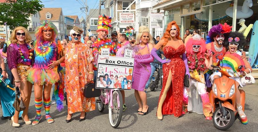 provincetown pride photos drag queens