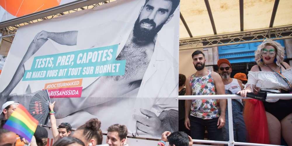 Vidéo: Hornet à la marche des fiertés LGBT de Paris