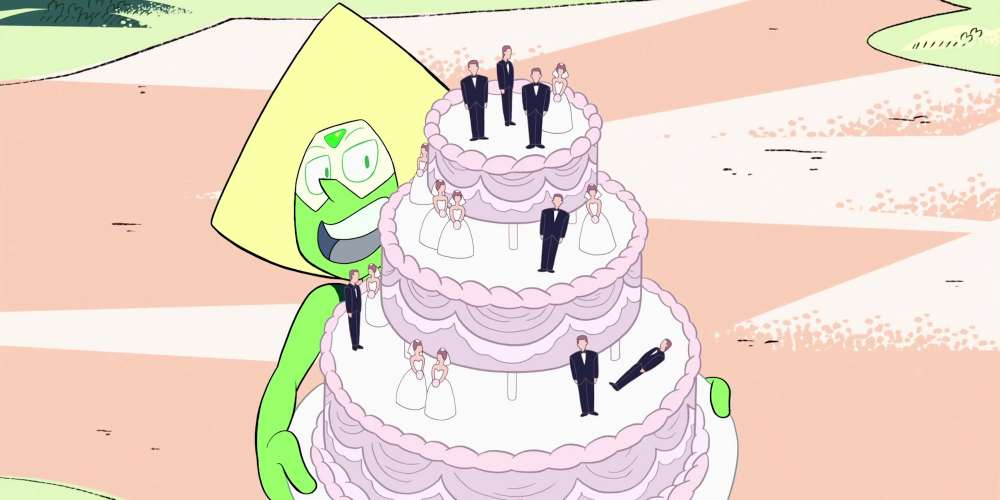 steven universe wedding feat