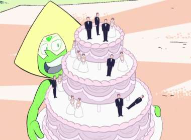 steven universe wedding feat