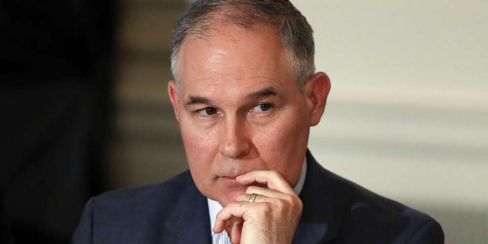 There's No Way Donald Trump Didn't Personally Write This Scott Pruitt Resignation Letter