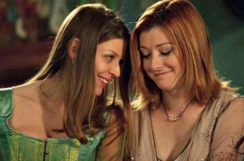 Marti Noxon 01, Buffy the Vampire Slayer, Tara, Willow, lesbian