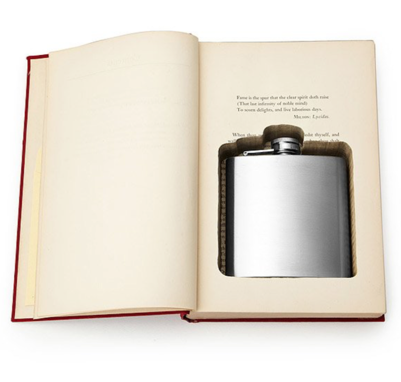 current obsessions flask in a book