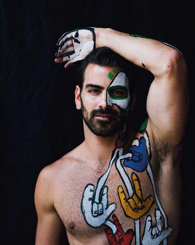 Nyle DiMarco Pride shoot Gaytimes