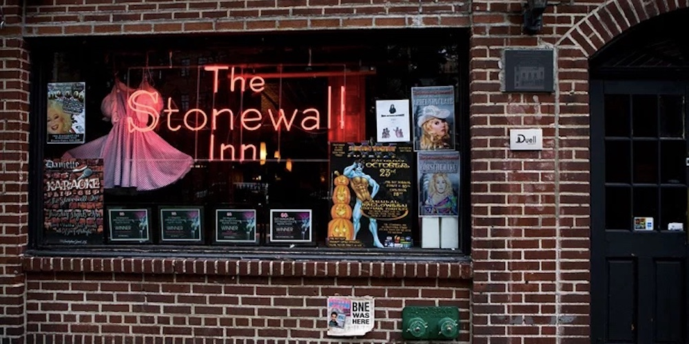 Some Teen Busted the Stonewall Inn's Front Window Because the Bar Kicked Him Out