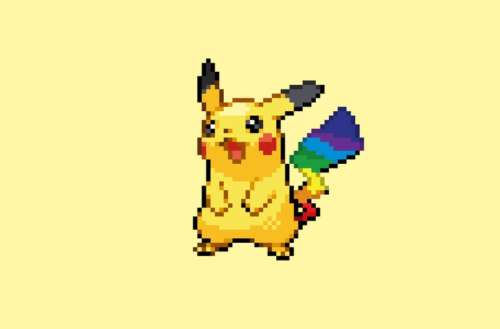 Pride Pokémon 03, Pikachu, Martin Lathbury