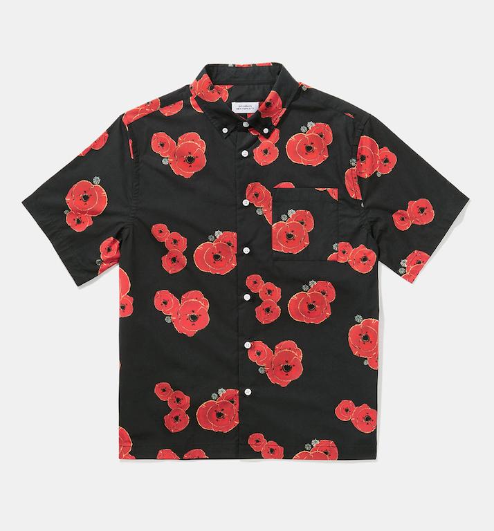 hawaiian print shirt saturdays nyc