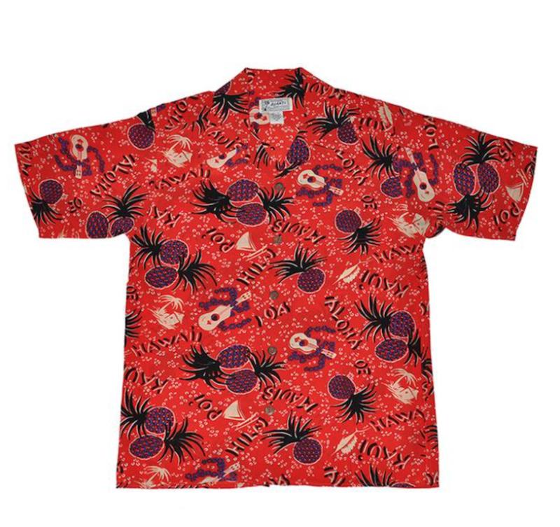 hawaiian print shirt avanti