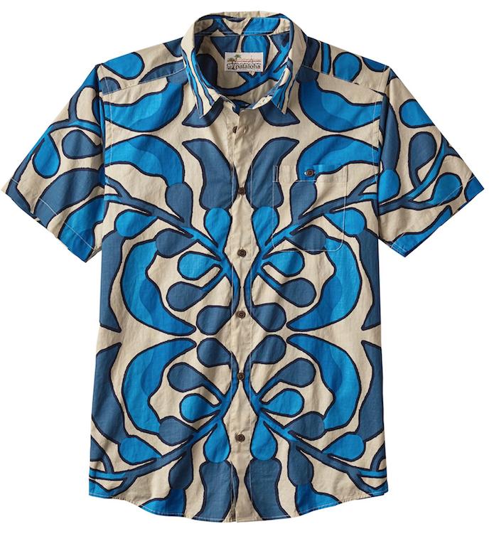 hawaiian print shirt patagonia