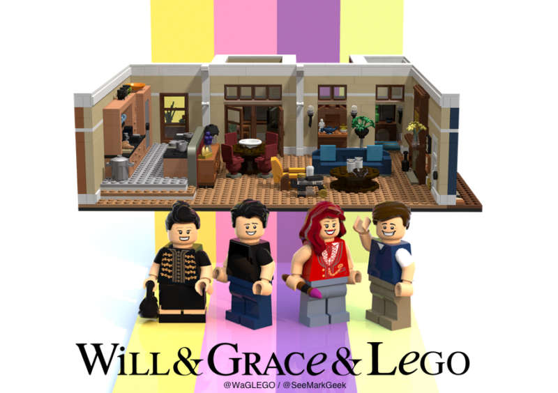 Will & Grace LEGO 03, Mark Fitzpatrick 03