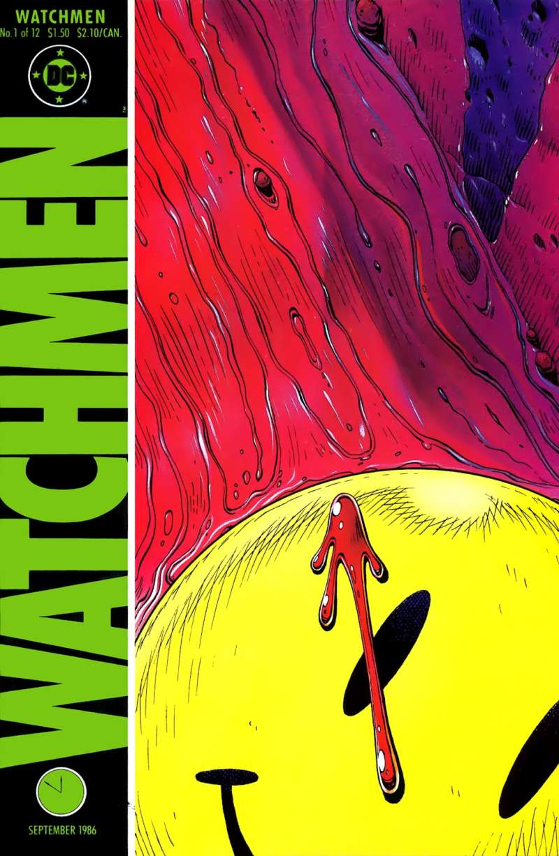 watchmen first issue cover