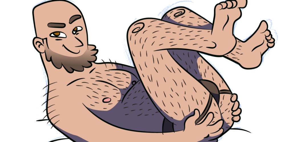 Pornolhices: ilustrações deliciosas contam desventuras sexuais de um homem gay