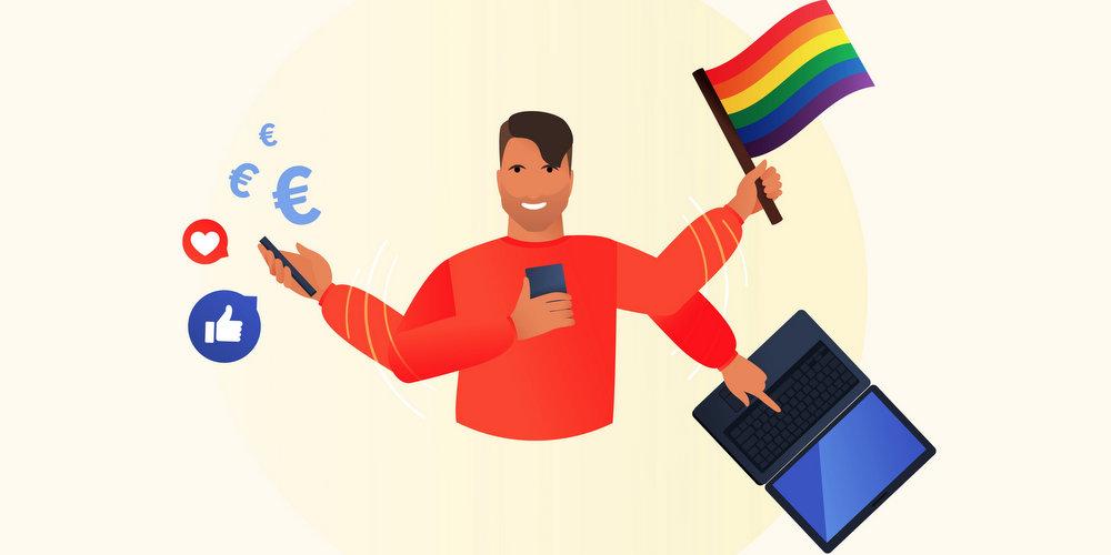 Mais que veulent les gays millennials? Les résultats à la loupe de l'enquête de Hornet