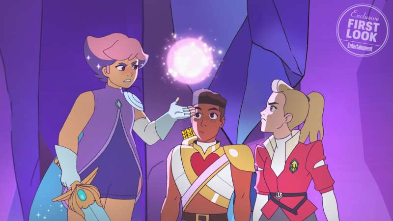 new she-ra designs glimmer bow adora