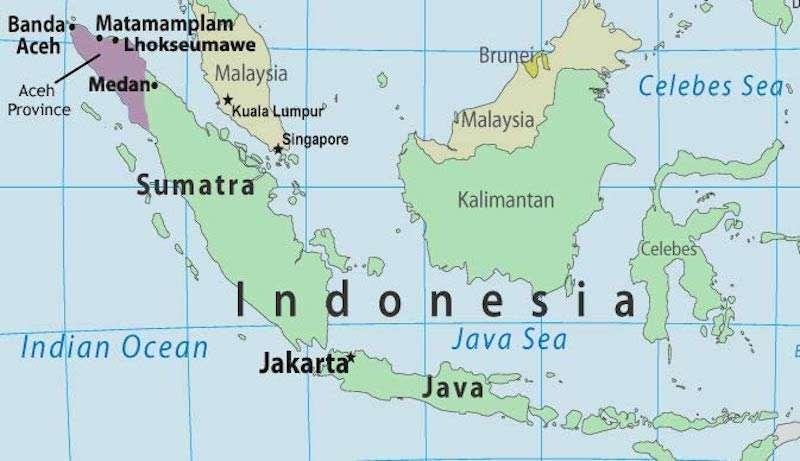 Indonesian caning 02 การโบยของอินโดนีเซีย