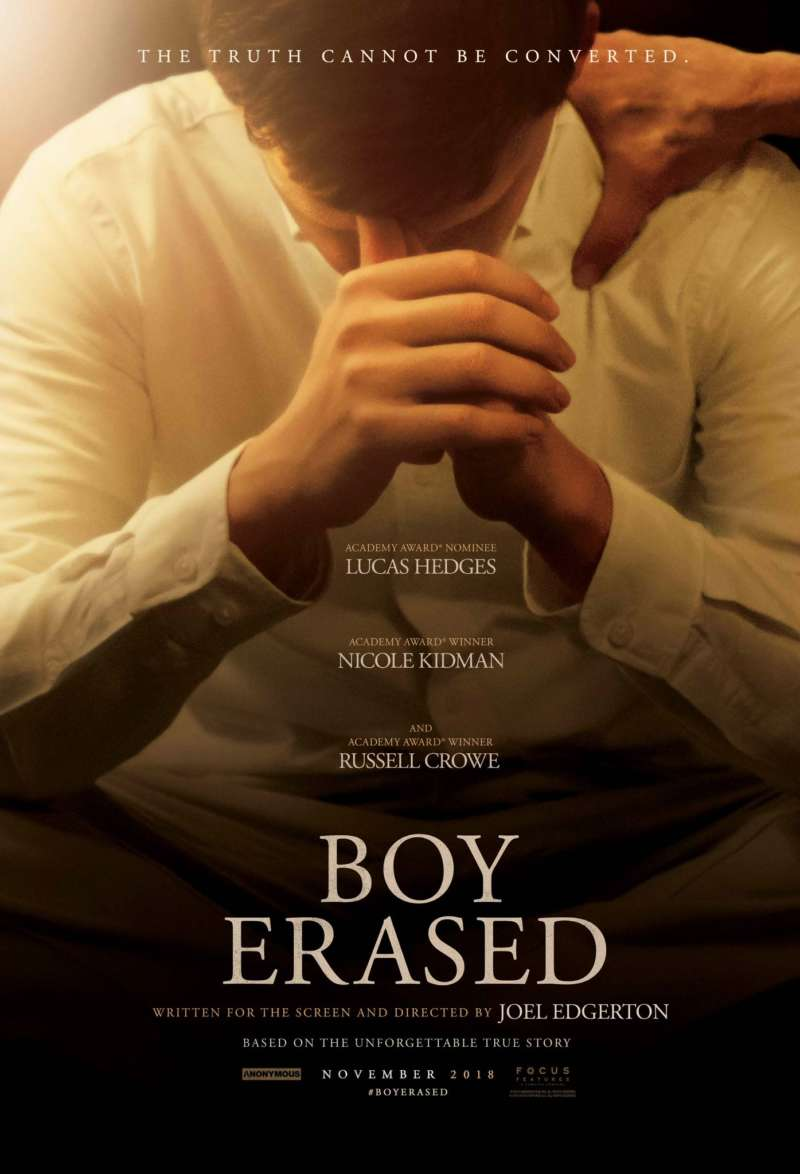 Boy Erased trailer poster image