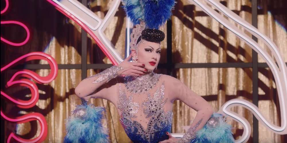 Violet Chachki Is Marilyn Monroe and a Vegas Showgirl in the New Prada Video Ad Campaign