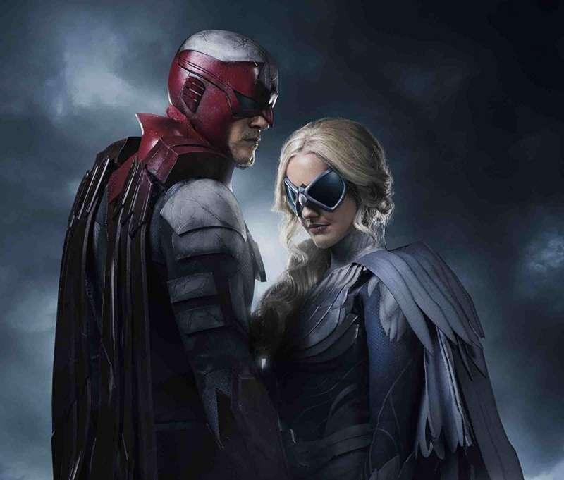 titans show fuck batman hawk and dove