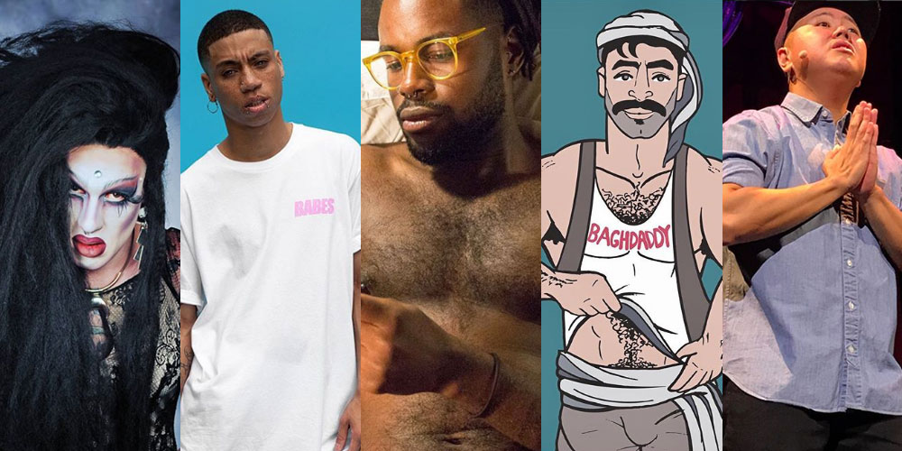 #FollowFriday, July 20: You Should Be Following These 5 Poets, Artists and Naked Boys Reading
