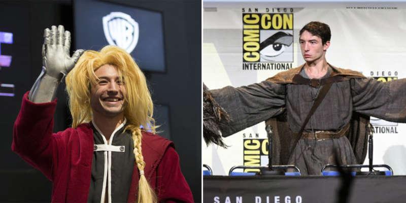 Ezra Miller Cosplay Toadette, Gandalf, Full Metal Alchemist