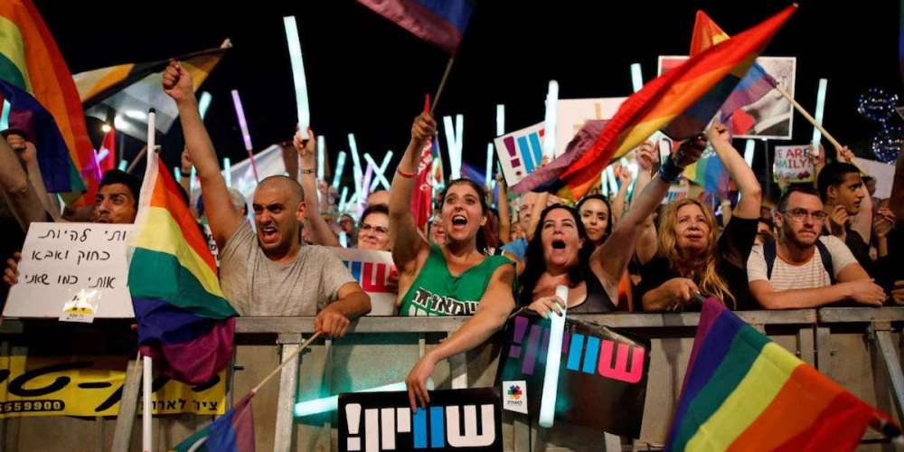 Tens of Thousands Throughout Israel Protested a Denial of Surrogacy for Gay Couples