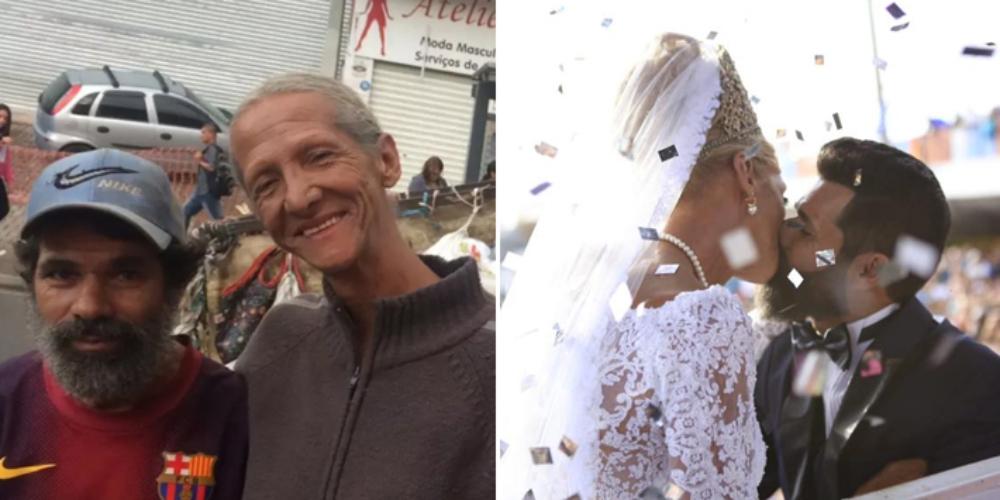 Catadores ganham casamento homoafetivo após 16 anos de união