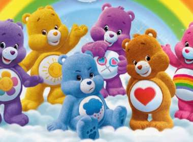 Trans Care Bear 01, Funshine Bear 01