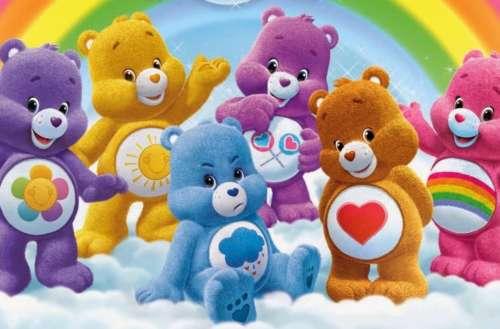 Trans Care Bear 01, Funshine Bear 01