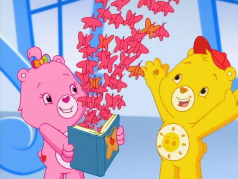 Trans Care Bear 02, Funshine Bear 02