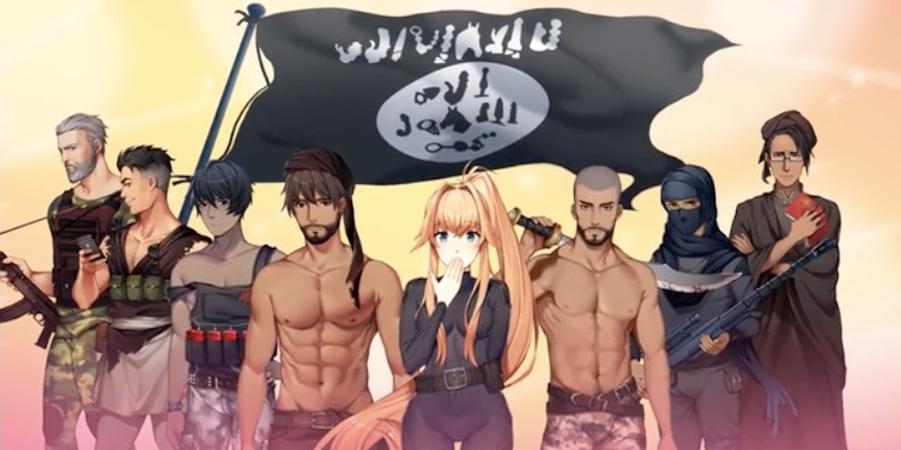 'F*ck ISIS' Is a Dating Simulation Game Where You Kill (and Date) Hunky Terrorists