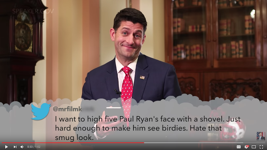 paul ryan mean tweets 2