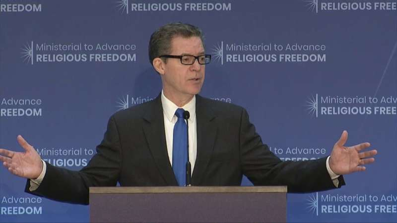 Ministerial to Advance Religious Freedom sam brownback