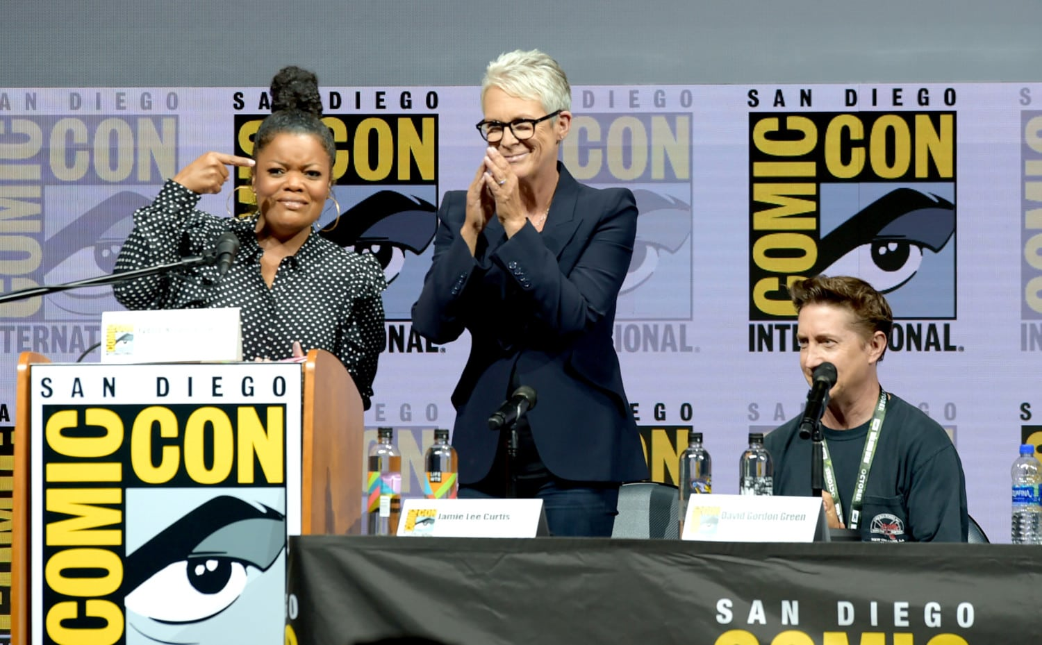 comic-con 2018 jamie lee curtis