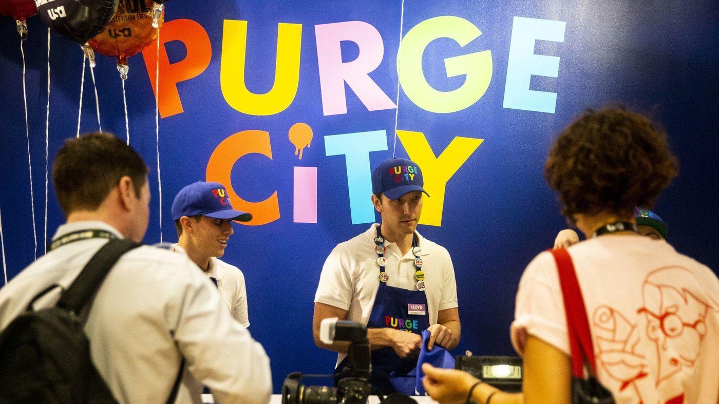 comic-con 2018 purge city