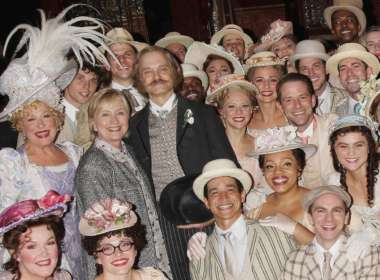 hillary clinton hello dolly feat cast