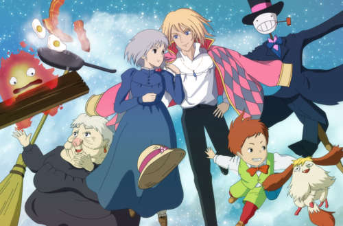 howl's moving castle feat