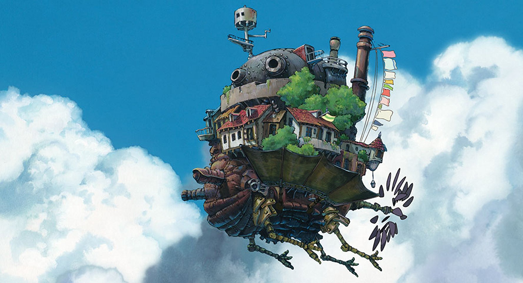 Howl's MOving Castle castle