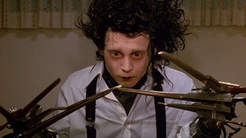 heroic monsters edward scissorhands