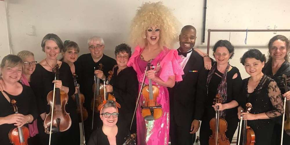Thorgy Thor Fulfills the Longheld Dream of Performing Alongside an Orchestra in Drag
