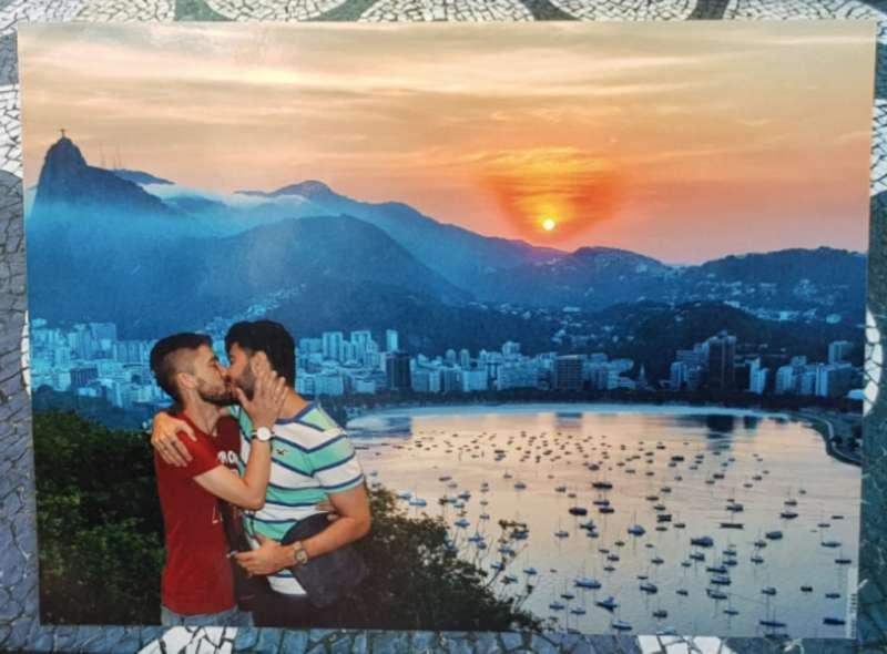 Brazilian gay couple