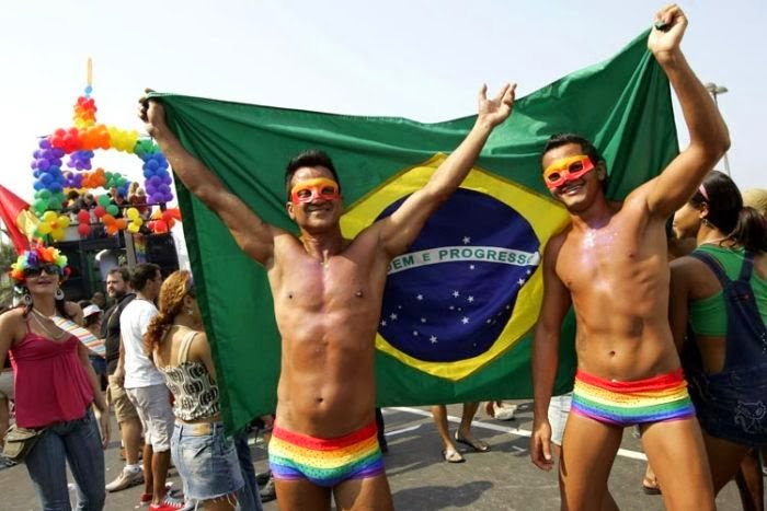 Brazil gay couple