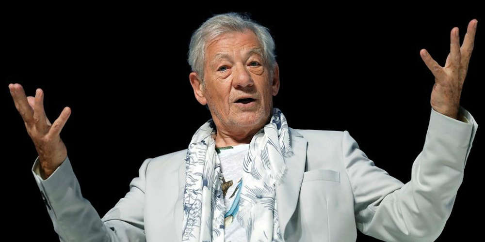 Ian McKellen Calls Trump 'Illiterate,' and That's Just His Latest Criticism of the U.S. President