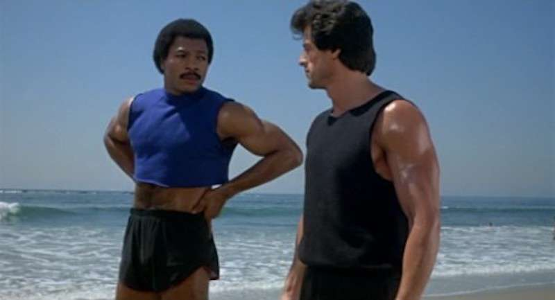 male crop top 07, Apollo Creed, Carl Weathers, Rocky 3
