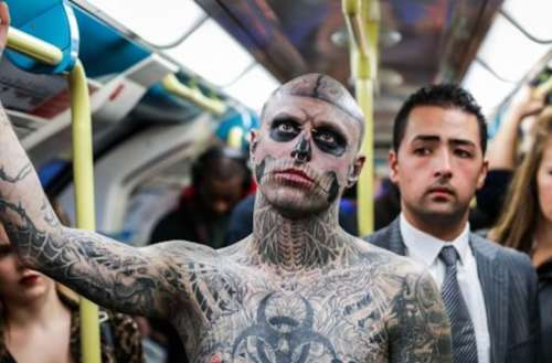 Rick Genest 01, Zombie Boy 01 week's top stories