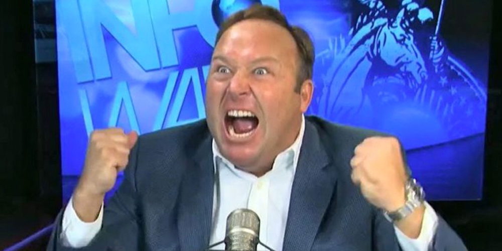 Facebook, YouTube and iTunes Have Finally Banned the Hateful Work of Far-Right Loon Alex Jones