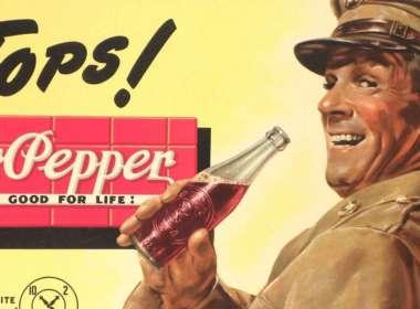 โฆษณาของ Dr Pepper