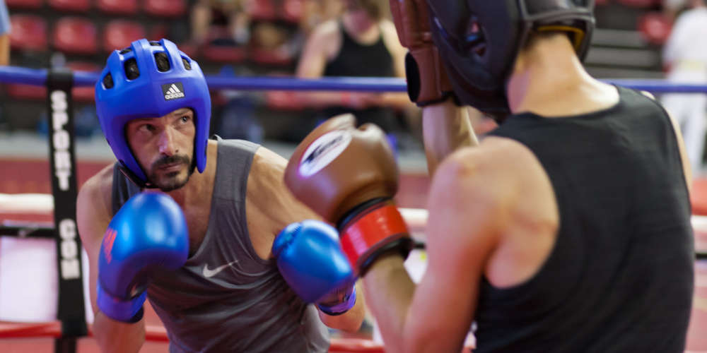 Aux Gay Games, le soleil cogne, les boxeurs aussi (Photos)