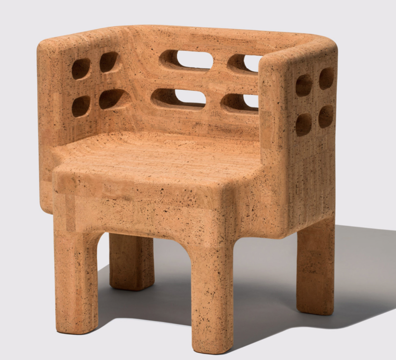 current obsessions cork armchair