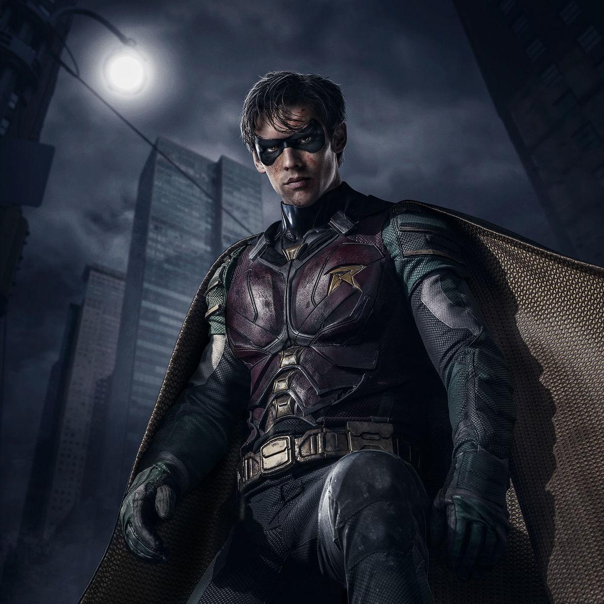 dc universe show titans robin