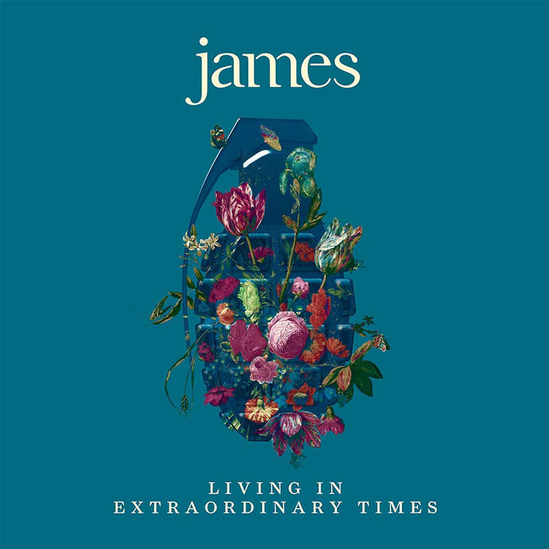 Living in Extraordinary Times cover james